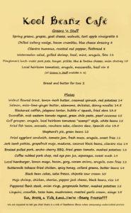kool beanz lunch menu 3